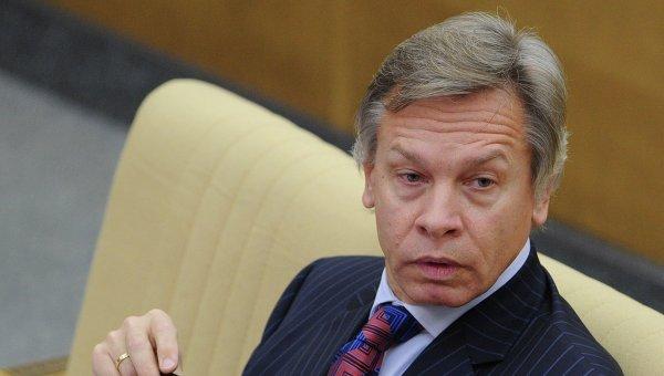Российский сенатор Алексей Пушков. Врхивное фото