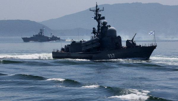 Тихоокеанский ВМФ РФ. Архивное фото