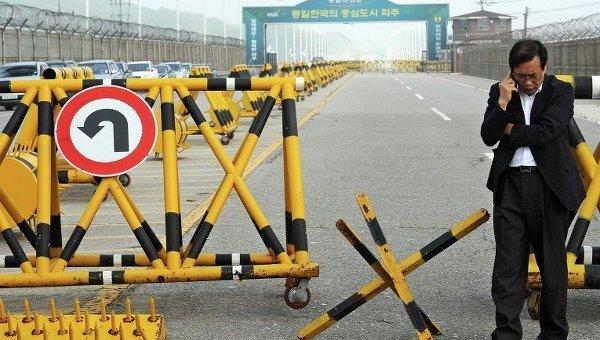 Демилитаризованная зона между Южной Корей и КНДР