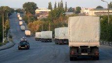 В субботу,  13 сентября, в Луганскую область прибыл второй гуманитарный конвой РФ в количестве около двухсот КамАЗов