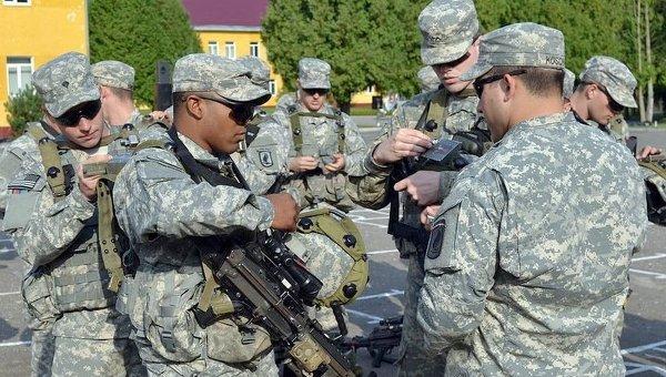 Международные военные учения Rapid Trident-2014 во Львовской области