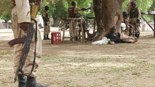 Солдаты в Нигерии