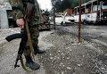 Ополченец в Донецке. Архивное фото
