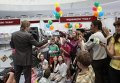 Андрей Гусин во время презентации детской книги Звездные истории успеха