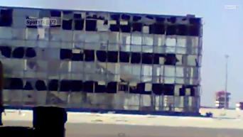 Съемка силовиков, удерживающих аэропорт в Донецке. Видео