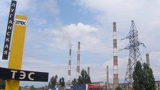 Луганская ТЭС. Архивное фото