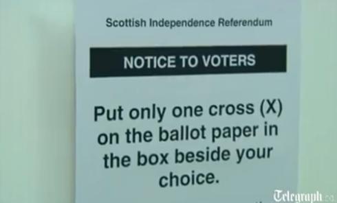 Референдум в Шотландии: участки открыты, идет голосование. Видео