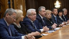 Спикер Госдумы Сергей Нарышкин встретился с депутатами Верховной рады Украины. Архивное фото
