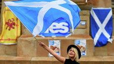 Окончание референдума в Шотландии