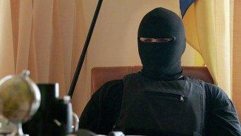 Семен Семенченко в балаклаве