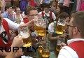 Пивной фестиваль Октоберфест. Видео