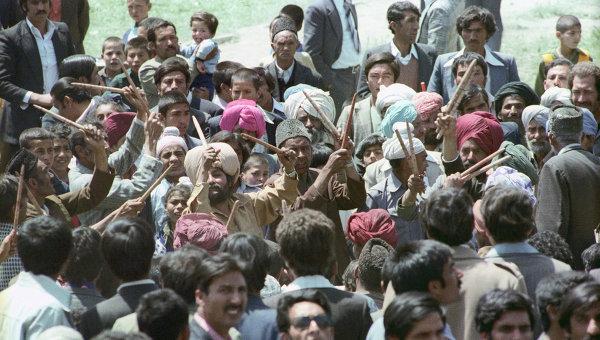 Митинг в Кабуле