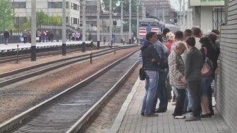 Поезд из мирной жизни: в Луганск прибыл первый пассажирский состав из Киева. Видео
