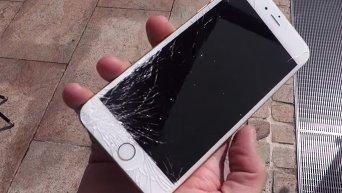 Дроп-тест новых смартфонов iPhone. Видео