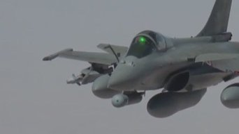 Франция вступила в войну с джихадистами ИГ. Видео