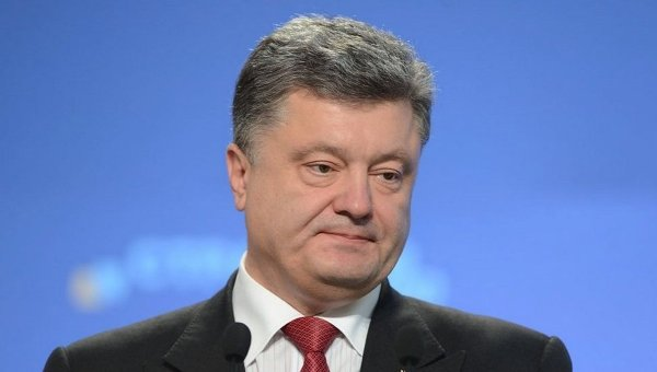 Петр Порошенко на пресс-конференции