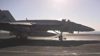 ВВС США готовятся наносить авиаудары по базам ИГ в Ираке. Видео