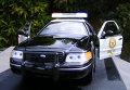 Полицейская машина в Мексике