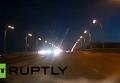 Видеорегистратор зафиксировал падение метеорита в Кемеровской области . Видео