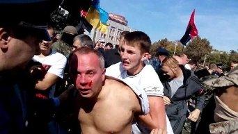 Избиение Нестора Шуфрича в Одессе