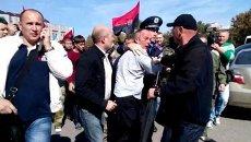 Избиение Нестора Шуфрича в Одессе. Архивное фото