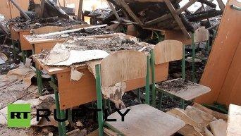 Не все школы Донецка смогут принять учеников 1 октября. Видео