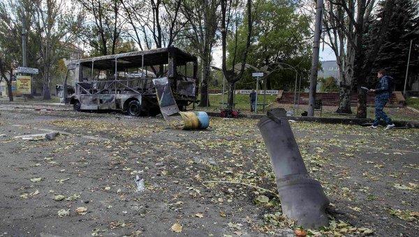 Донецк. Архивное фото