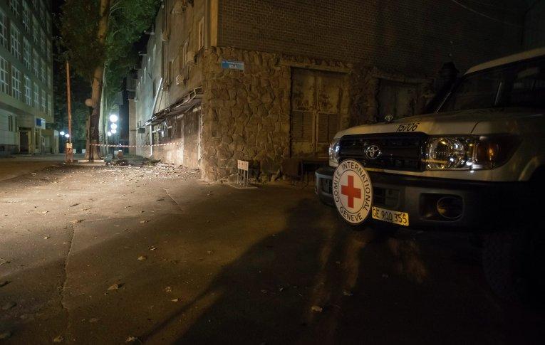 В Донецке погиб сотрудник Красного Креста