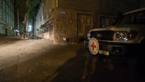 В Донецке погиб сотрудник Красного Креста. Архивное фото