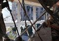 Бои в районе аэропорта города Донецка. Архивное фото