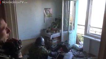 Обстрел Донецкого аэропорта. Видео