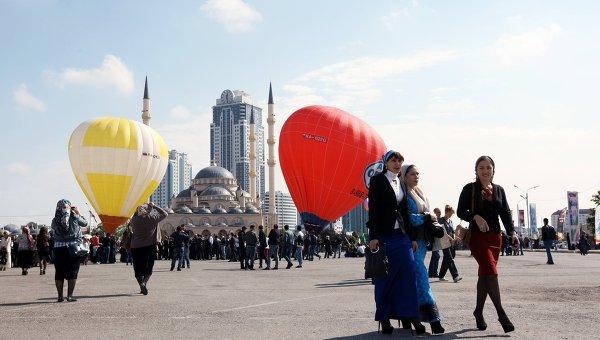 Празднование Дня города в Грозном