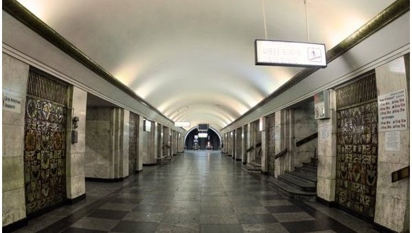 Станция Киевского метрополитена Крещатик