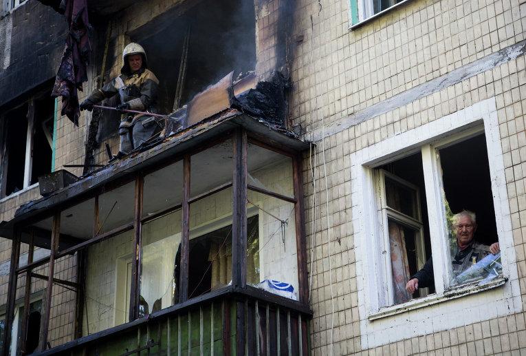 Ситуация в Донецке - обстрелы