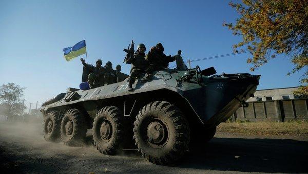 Военная техника украинских силовиков. Архивное фото