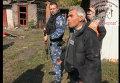 Губернатор Луганской области проводит работу с местным населением в Попасной