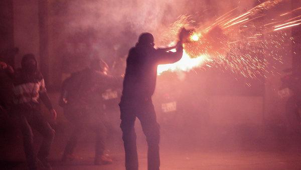 Акции протеста курдского населения на юго-востоке Турции