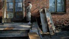 В городе Счастье на Донбассе