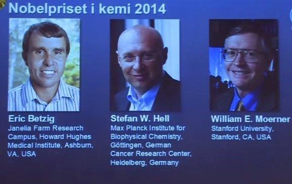 Лауреаты Нобелевской премии по химии-2014