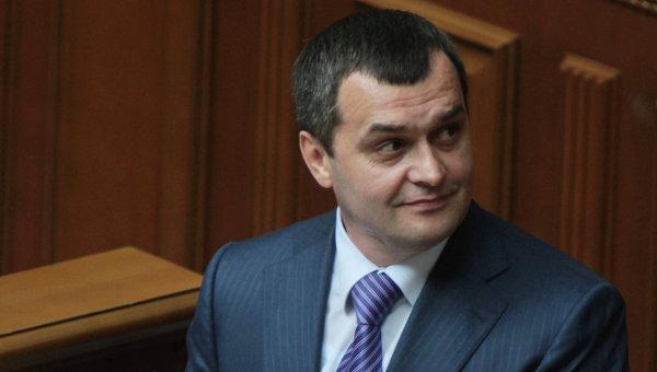 Экс-глава МВД Украины Виталий Захарченко