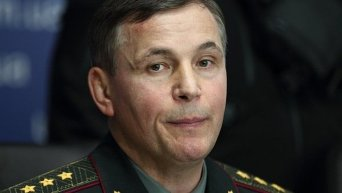 Министр обороны Валерий Гелетей
