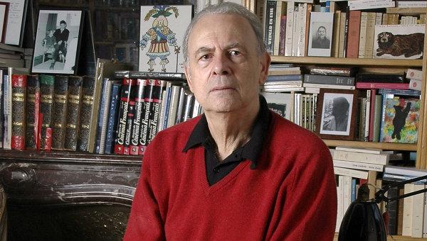 Французский писатель Патрик Модиано