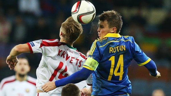 Футбол. Отборочный матч ЧЕ-2016. Белоруссия – Украина
