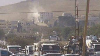 Боевики ИГ и курды ведут активные боевые действия за город Кобани. Видео