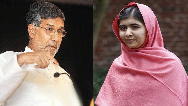 Кайлаш Сатирти и Малала Юсафзай