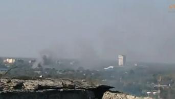Захват аэропорта в Донецке