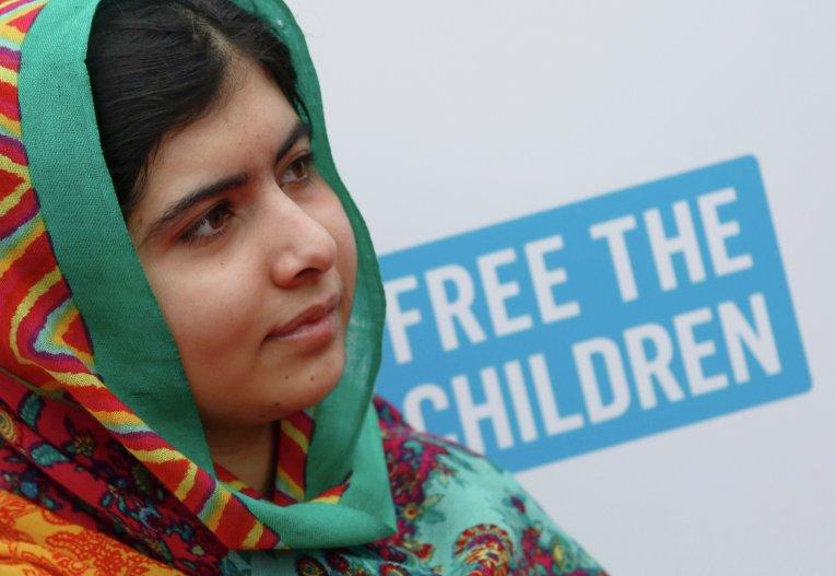 Пакистанская правозащитница Малала Юсафзай