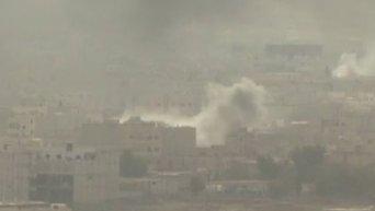 Почти половина сирийского Кобани находится под контролем боевиков ИГ. Видео