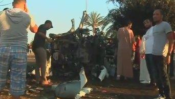 Теракт в ливийском Бенгази. Видео