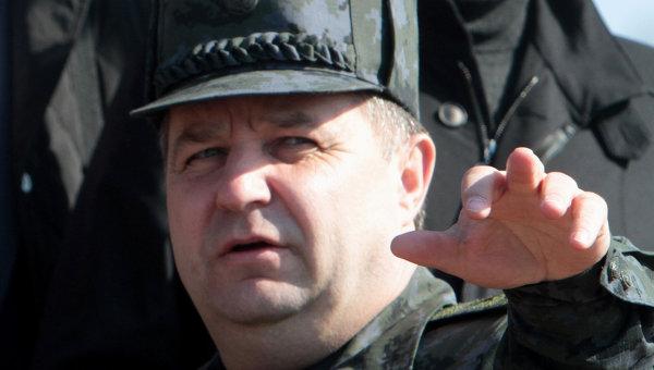 Командующий Нацгвардией Степан Полторак. Архивное фото